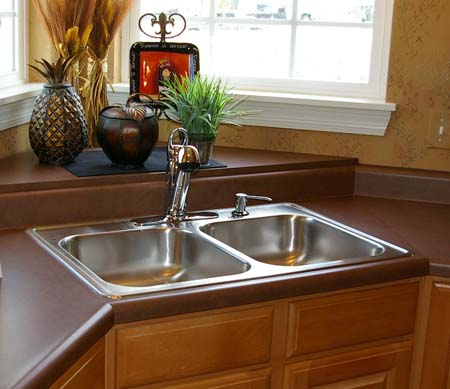 Plateau Shelf With Sink